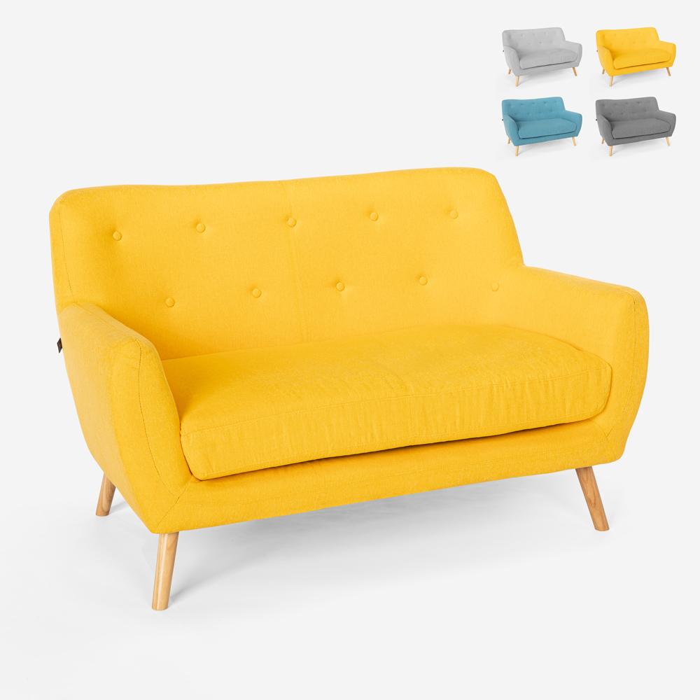 2 pers. Sofa i moderne skandinavisk stil Irvine